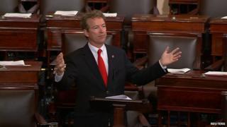 Senator Rand Paul spoke on the Senate floor to prevent the bill's passage