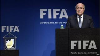 Sepp Blatter resigns 02 May 2015