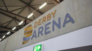 Inside Derby Arena