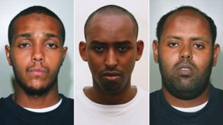 Ramzi Mohammed, Yassin Omar and Muktar Said Ibrahim