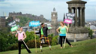 Edinburgh Fringe launch