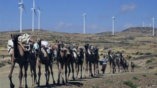 Windfarm in Ethiopia