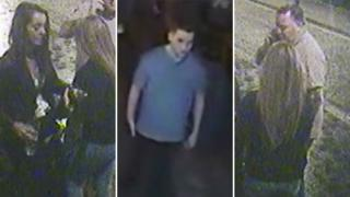Potential witnesses on CCTV
