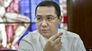 Romanian Prime Minister Victor Ponta - file pic