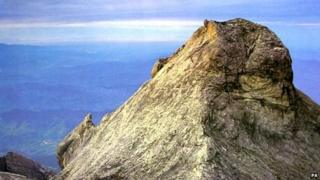 One of the peaks on Mount Kinabalu, Borneo