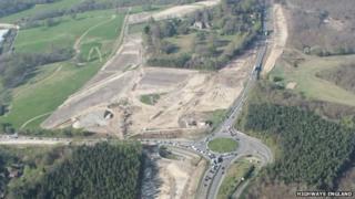 A21 widening scheme