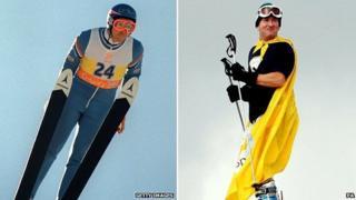 Olympian Eddie 'The Eagle' Edwards