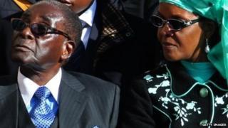 President Robert Mugabe and Grace Mugabe - 2013