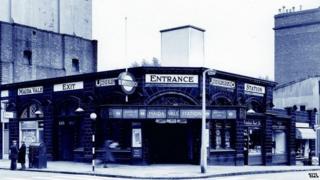 Maida Vale Tube Station