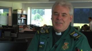 Kevin Charles, EMAS chaplain