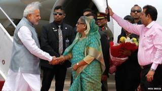 India and Bangladesh sign historic territory swap deal