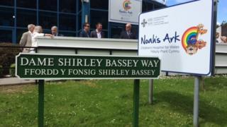Dame Shirley Bassey sign