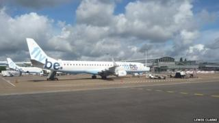 Flybe at Southampton Airport