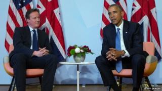 President Barack Obama and Prime Minister David Cameron