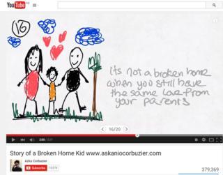 Still from Azka Coubuzier's video