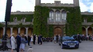 Princess Anne at Lincoln Castle