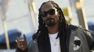 US rapper Snoop Dogg