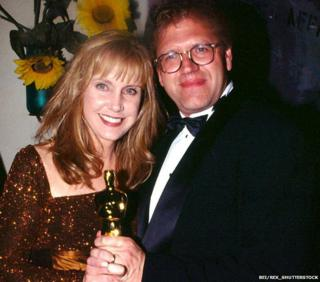 Mary Ellen Trainor and Robert Zemeckis