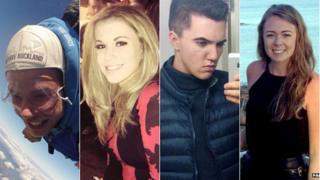 (L to r) Daniel Thorpe, Vicky Balch, Joe Pugh and Leah Washington