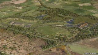Proposed potash mine near Whitby
