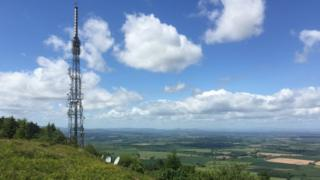 Wrekin TV tower