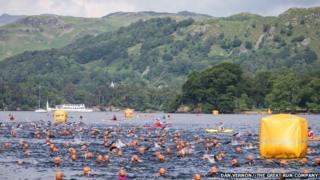 The Great North Swim