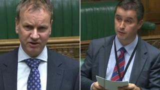 Pete Wishart and Angus MacNeil