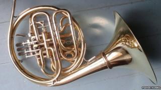 stolen French horn