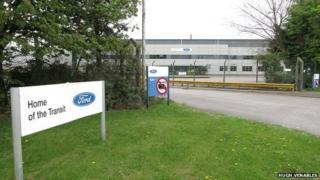 Former Ford Transit factory