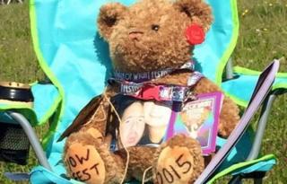 Kyle Birch teddy bear