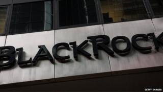 BlackRock sign