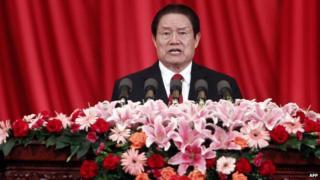 Zhou Yongkang speaks 18 May 2012