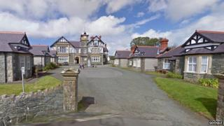 Pritchard-Jones buildings at Newborough, Anglesey