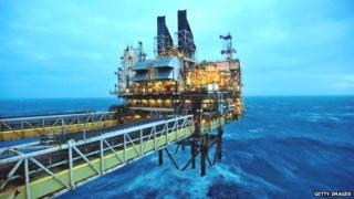 North Sea installation