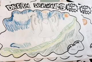 Kids Company dream drawing