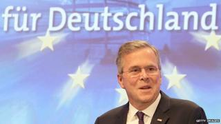 Jeb Bush in Germany