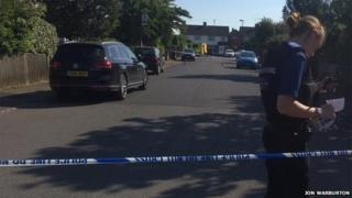 Bell View police cordon
