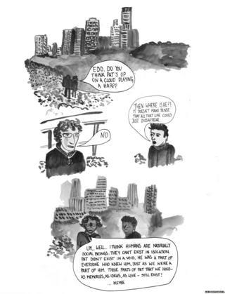 Lily Ash Sakula cartoon