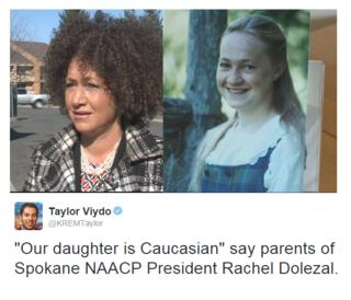 For years Rachel Dolezal said she was partly of African-American ancestry - a claim her parents have denied