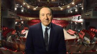 Kevin Spacey at The Old Vic