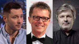 Gordon Aikman, Nicky Campbell and James MacMillan