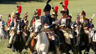 Napoleonic re-enactors