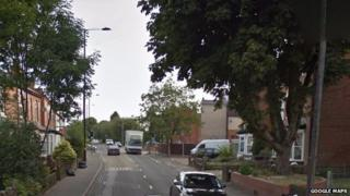 Fox Hollies Road in Acocks Green - generic image