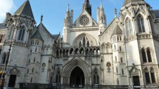 The High Court at the Royal Courts of Justice