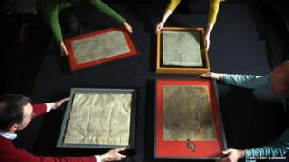 Copies of the Magna Carta