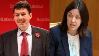 Ken Macintosh and kezia dugdale