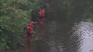 Water rescue team