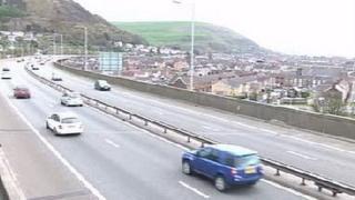 Port Talbot M4 traffic