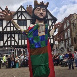 King John puppet
