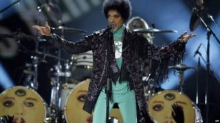 Pop star Prince performs in 2010